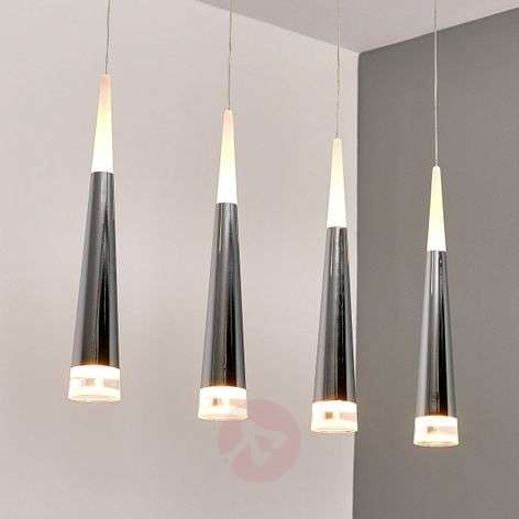 4-bulb LED hanging lamp Janne