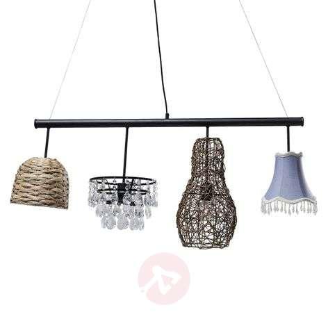 4-bulb pendant lamp Parecchi Art House