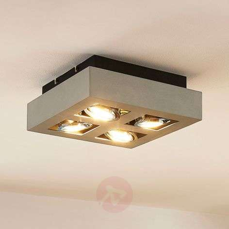 4-bulb Vince LED ceiling light
