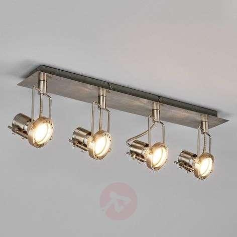 4-light Agidio LED ceiling lamp