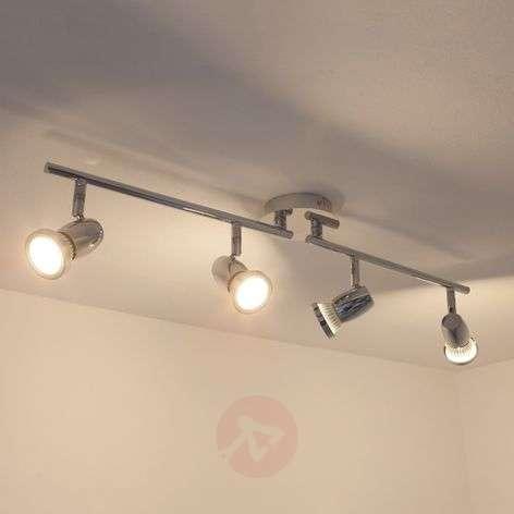 4-Light GU10 LED ceiling lamp Arminius