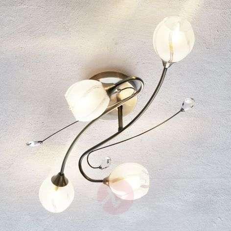 4-light, peppy ceiling light Alanis