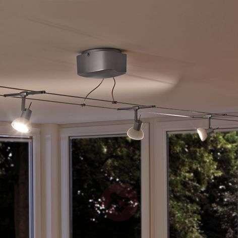 6-bulb cable lighting system set Sheela LED