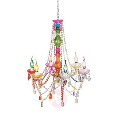 6-bulb chandelier Starlight Rainbow
