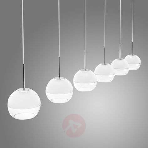 6-bulb LED pendant lamp Arago
