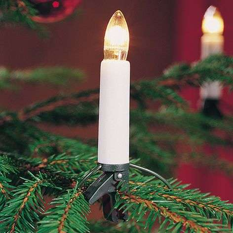 9.75 m indoor string lights with 16 top bulbs