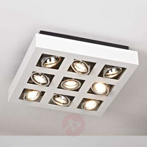 9-bulb bright LED ceiling light Vince