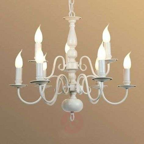 9-bulb MAYRA chandelier  in a country house style