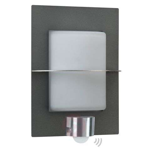Adelina outdoor wall light, motion detector