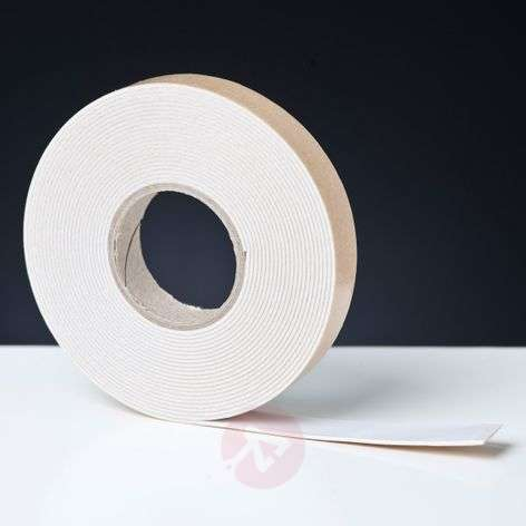 Adhesive strip for mirrors