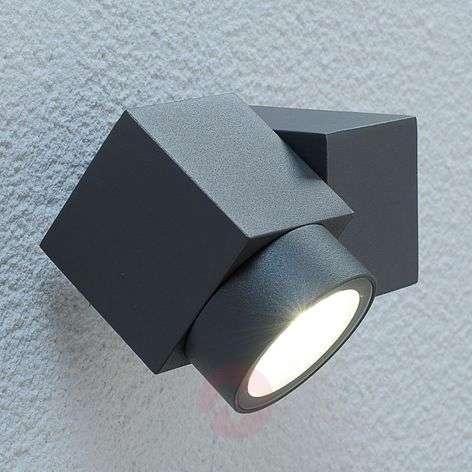 Adjustable LED outdoor spotlight Lorelle