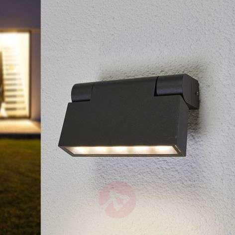 Adjustable LED wall lamp Jovan for outdoor use