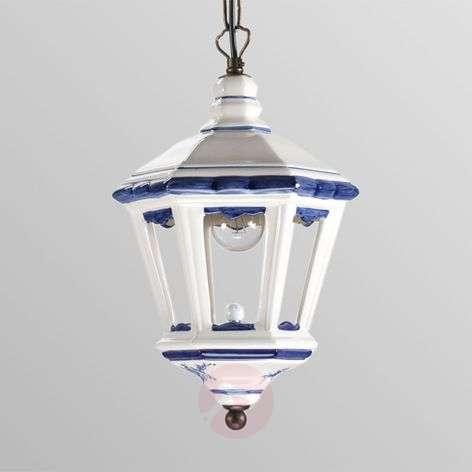 Adonia hanging light in lantern form