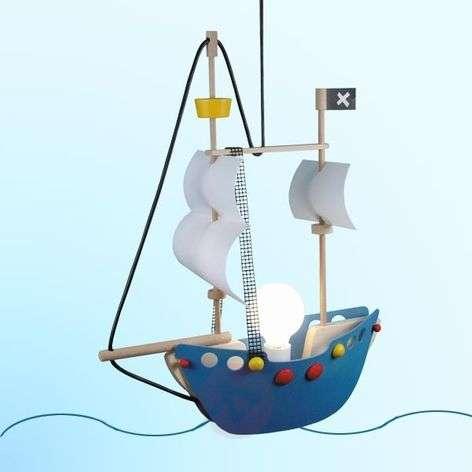 Adventurous Pirate Ship Pendant Light