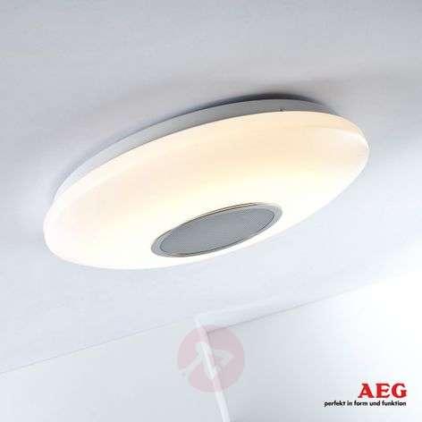 AEG Bailando LED ceiling light - light and sound
