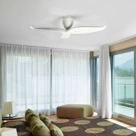 Aeratron ceiling fan, white, 126 cm
