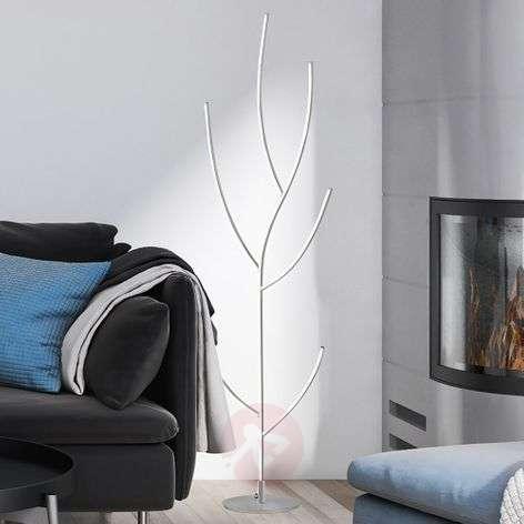 Aesthetically shaped Janssen LED floor lamp