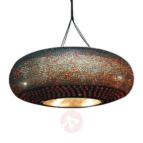 Affections hanging lamp Ø 55 cm gold colourful