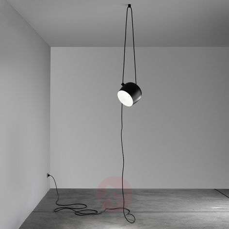 Aim Small switch Dim EUR - black pendant light