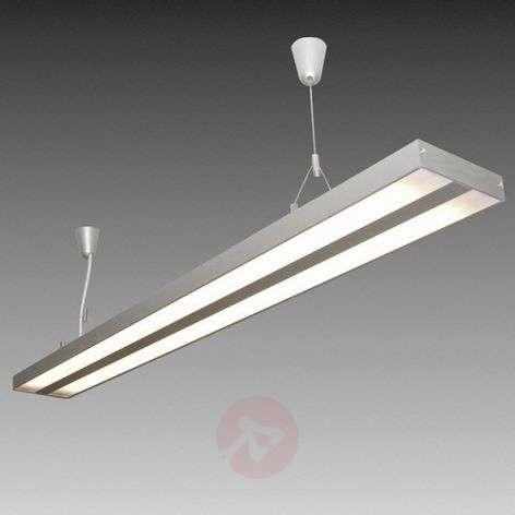 AIR LIGHT fluorescent pendant light, 119cm, ww