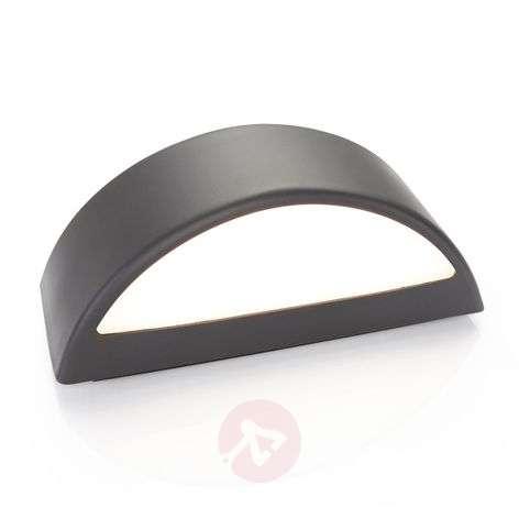 Alaiza LED outdoor wall lamp IP65 semicircular