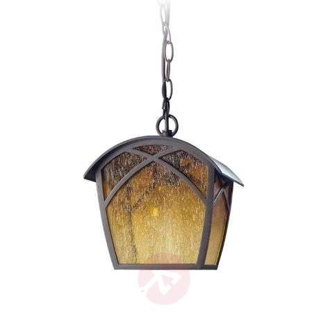 Alba outdoor hanging light, country house style