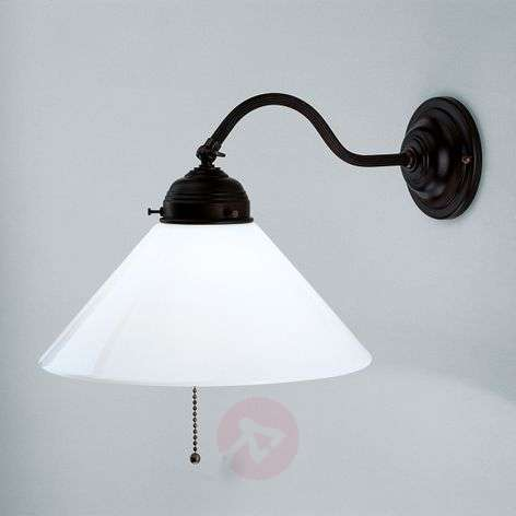 ALFRED wall light with antique appearance