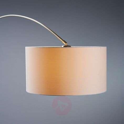 Alia fabric floor lamp with an LED lamp
