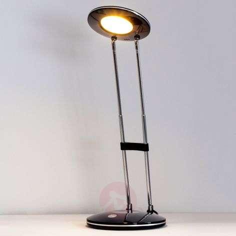 Almina Classical Modern LED Desk Lamp, Black-9643010-31