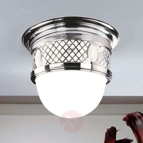 Alt Wien - Art Nouveau brass ceiling light