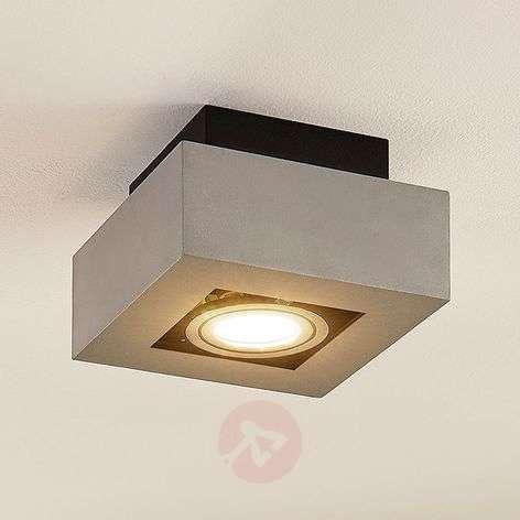 Aluminium LED ceiling light Vince