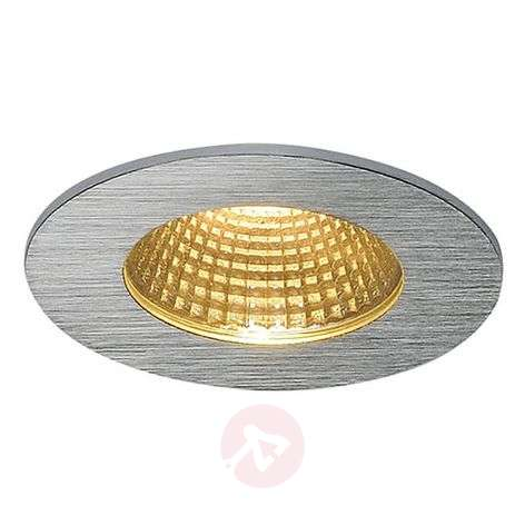 Aluminium LED recessed ceiling light Patta-I