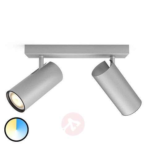 Aluminium Philips Hue LED spotlight Buratto dimmer