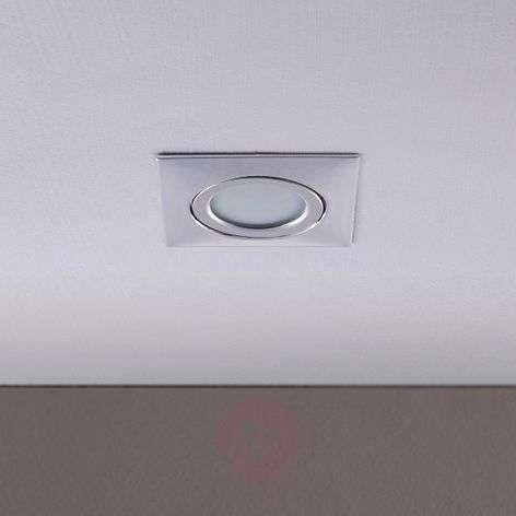 Aluminium recessed ceiling light Andrej with LEDs