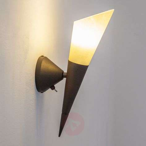 Alva wall light with an E14 LED lamp