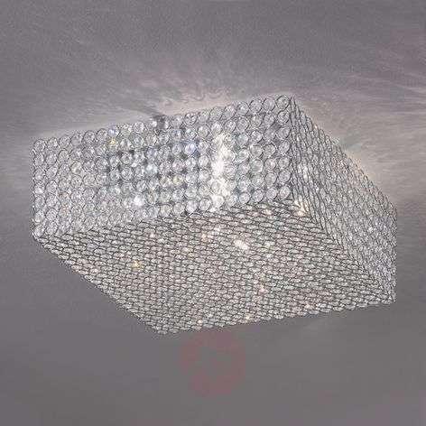 Amaja Crystal Ceiling Light Sparkling