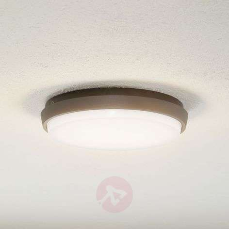Amra - LED outdoor ceiling light with round shape