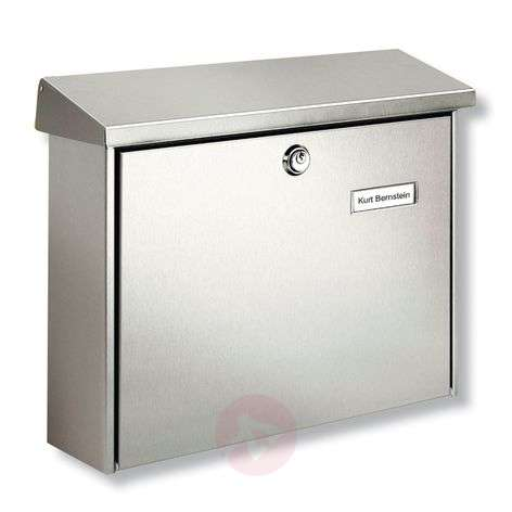 Amrum letter box with protective coating