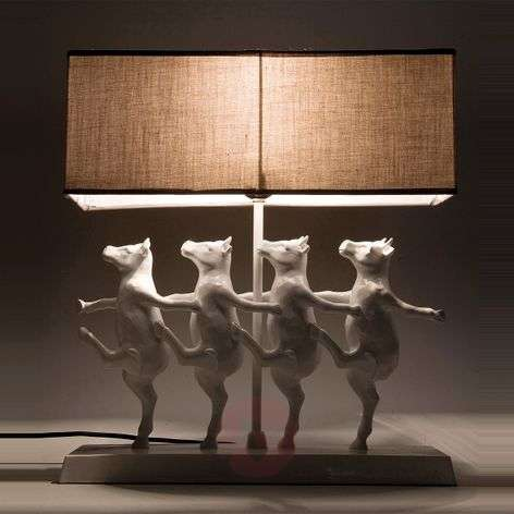 Amusing table lamp DANCING COWS