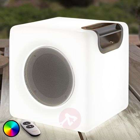 Angelana speaker with RGB LEDs, IP44