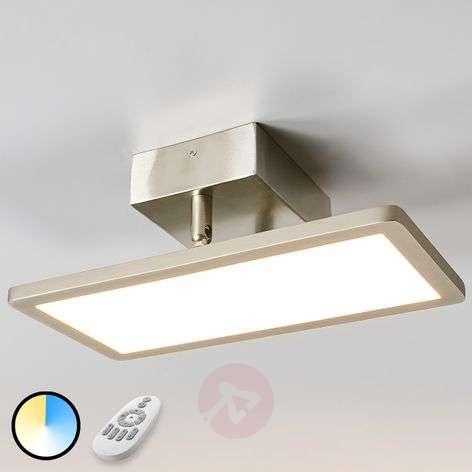 Angular LED ceiling lamp Vanessa, Easydim