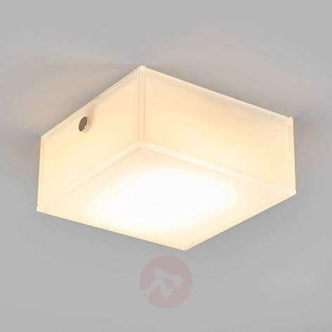 Angular LED ceiling light Quadro