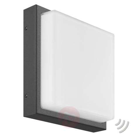 Angular LED outdoor wall lamp Ernest, graphite-6068087-32