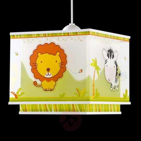 Animal Friends - cute pendant light for children