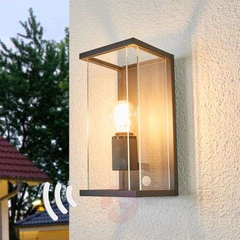 Annalea motion sensor outdoor wall lamp