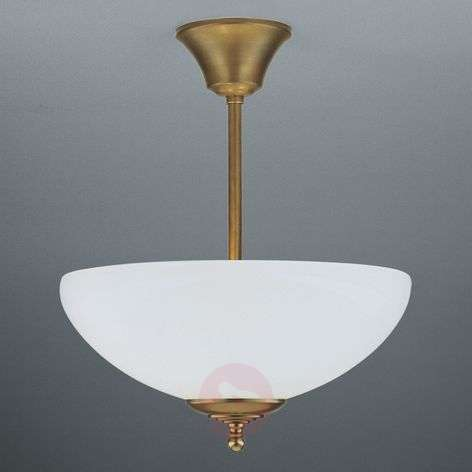 ANNI handmade ceiling light, brass