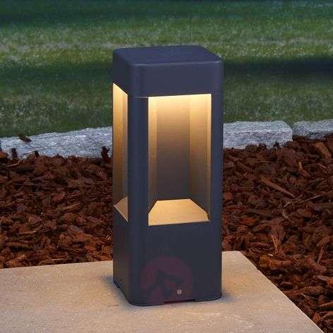 Annika Aluminium Pillar Lamp with LEDs