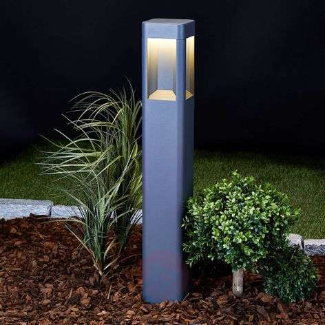 Annika Anthracite-coloured LED Path Lamp