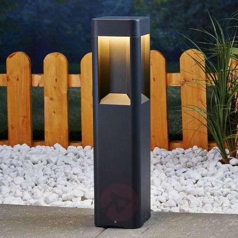 Annika - LED pillar lamp, made of aluminium