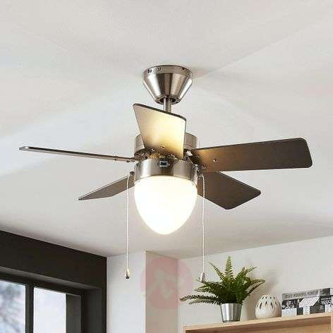 Ante five-blade ceiling fan with light